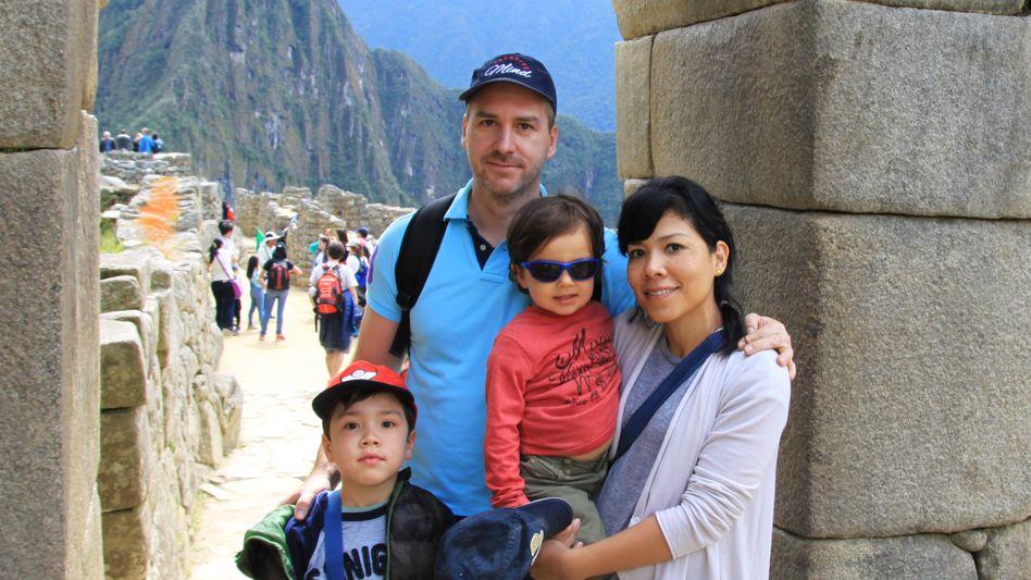 Kai Zaunick hat in Peru eine Familie gegründet
