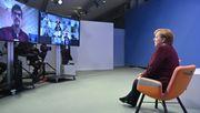 Merkel stellt sich dem Frust der Eltern