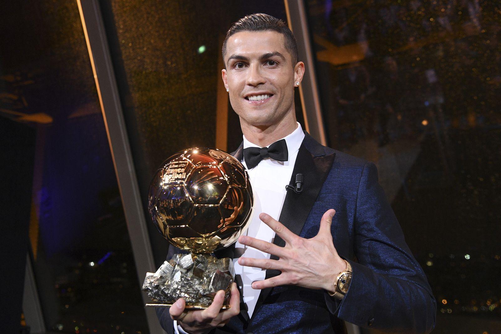 Cristiano Ronaldo gewinnt erneut Ballon dOr