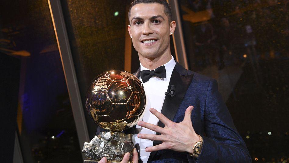 Weltfußballer 2017 Cristiano Ronaldo