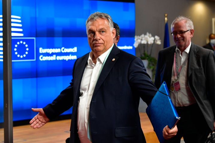 Viktor Orbán: Er verspottete seine Gegner am Rande des Gipfels regelrecht