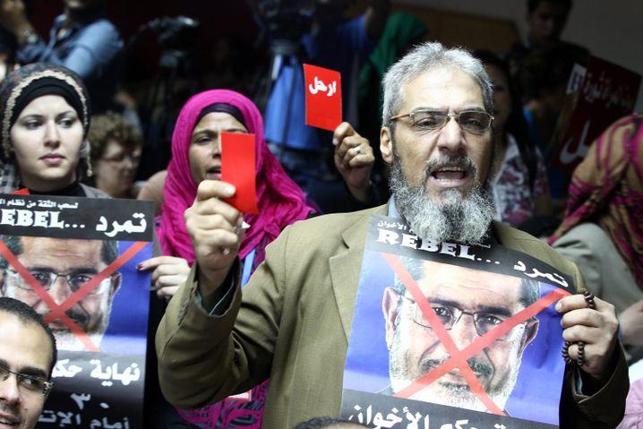 Anti-Mursi-Demonstrant