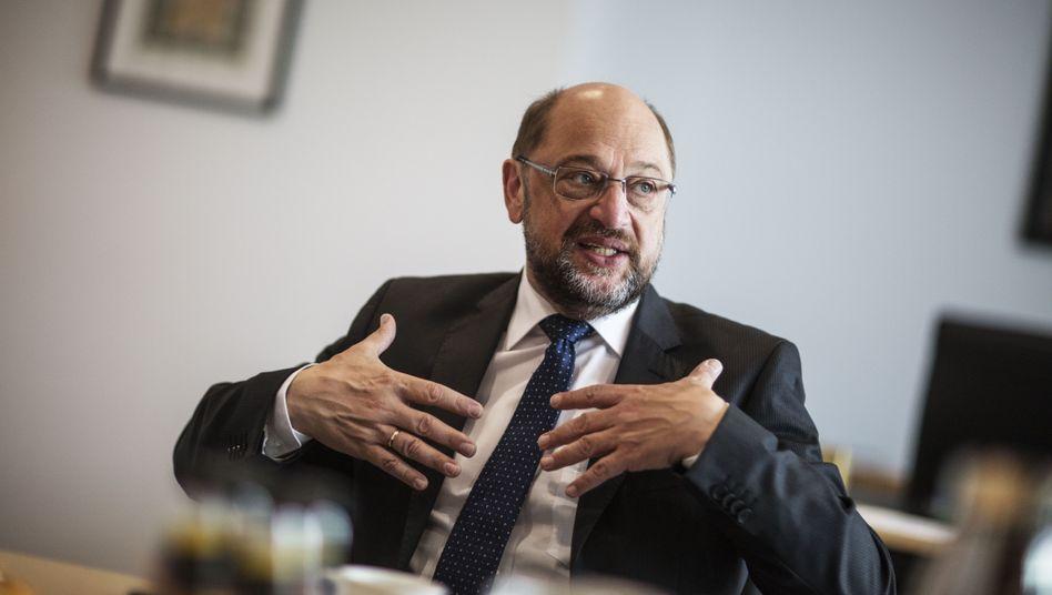 SPD candidate for chancellor Martin Schulz