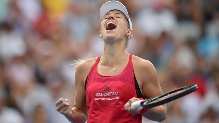 Kerber bei den Australian Open: Comeback der Freude