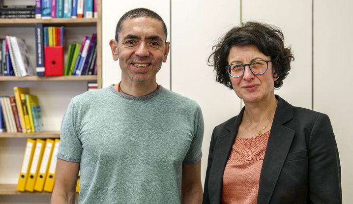 Biontech-Gründer Uğur Şahin und Özlem Türeci