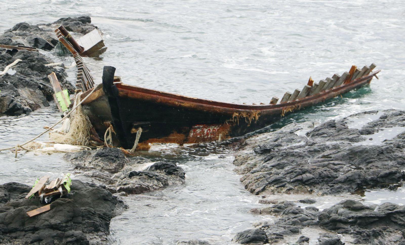 Japan North Korean Boat