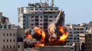 Israel zerstört Hochhaus mit Medienbüros in Gaza