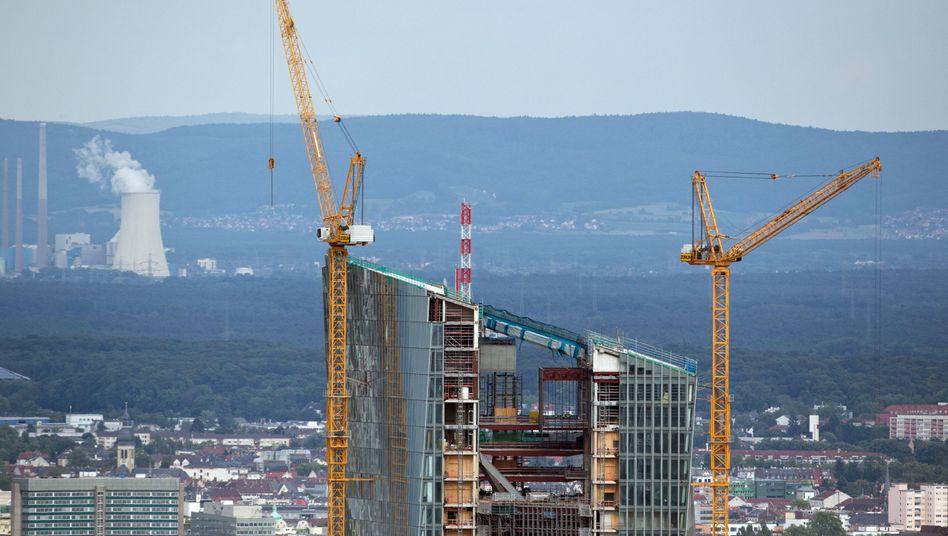 EZB-Neubau in Frankfurt am Main: Frauenquote für Top-Jobs