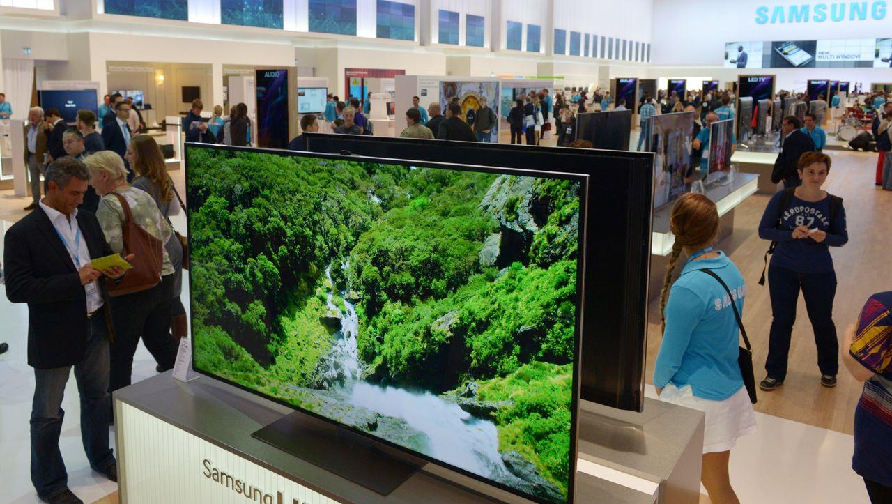 Kartellamt kritisiert Werbebanner auf Samsung-Fernsehern - DER SPIEGEL...