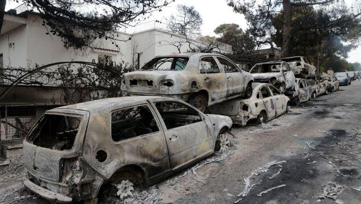 Griechenland: Inferno in Mati