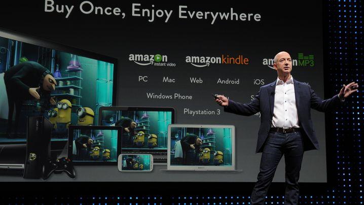 Neue Amazon-Gadgets: Kindle-Reihe geht in die fünfte Generation
