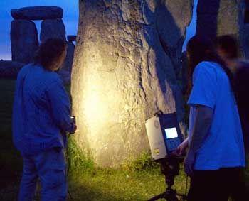 Laser-Scan in Stonehenge: Verborgene Zeichen im Stein