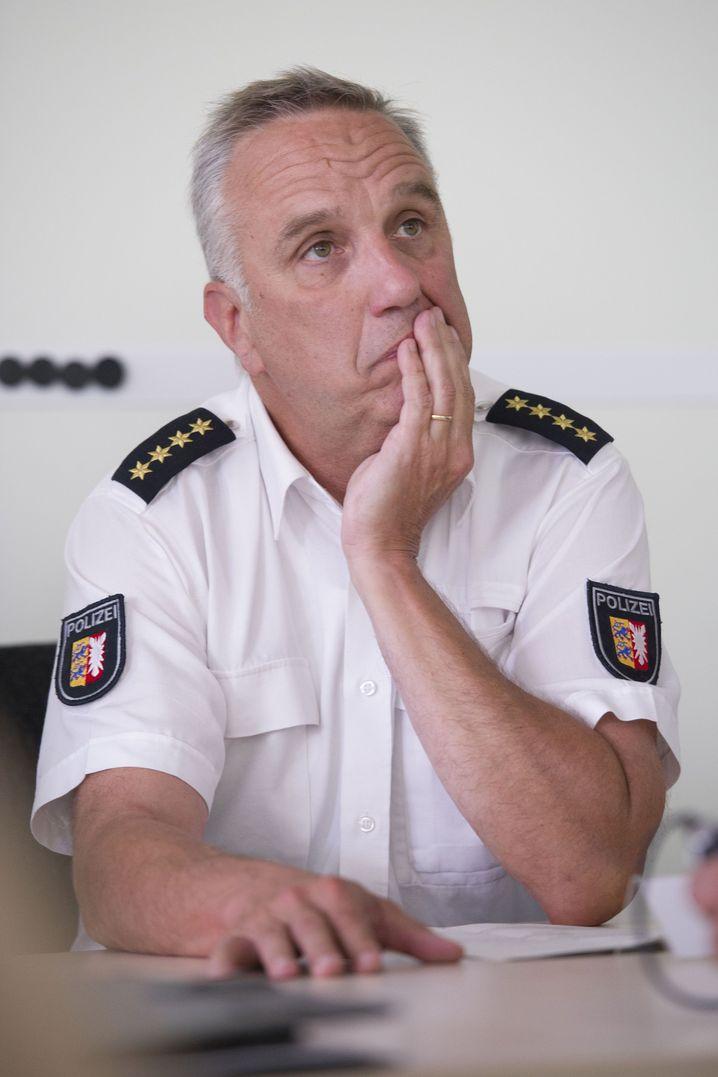 Polizeichef Hüttmann 2012