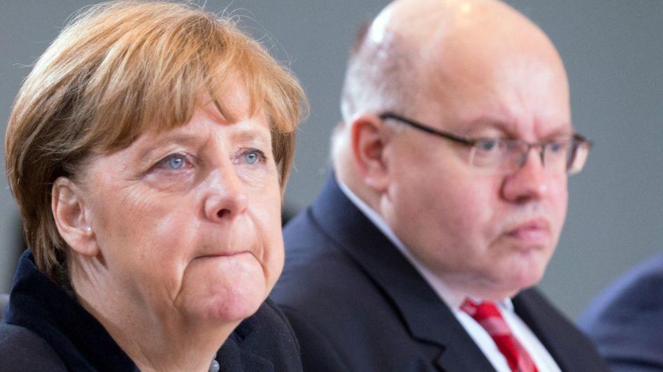 Bundeskanzlerin Merkel, Minister Altmaier: Verhandlungen mit der Türkei
