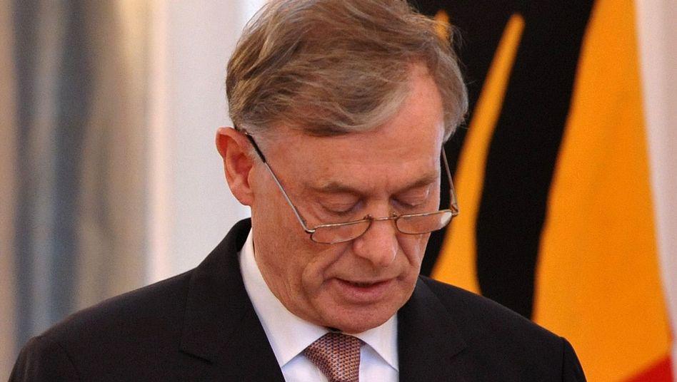 German President Horst Köhler resigned on Monday.