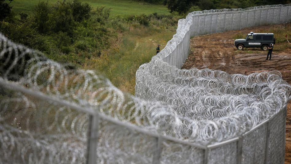 """Bulgarisch-türkische Grenze: """"Die Europäer können ruhig schlafen"""""""
