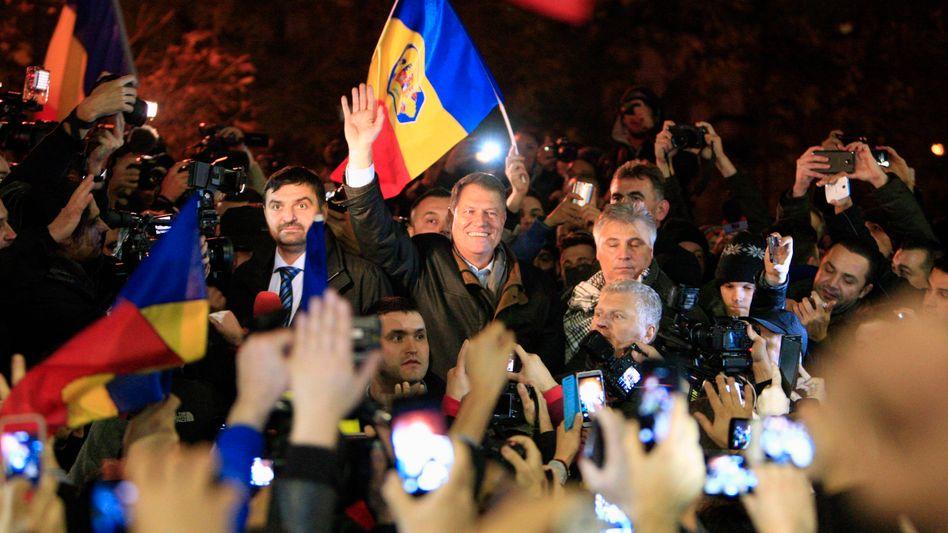 Rumänischer Wahlsieger Klaus Johannis: Allein gegen die Mafia
