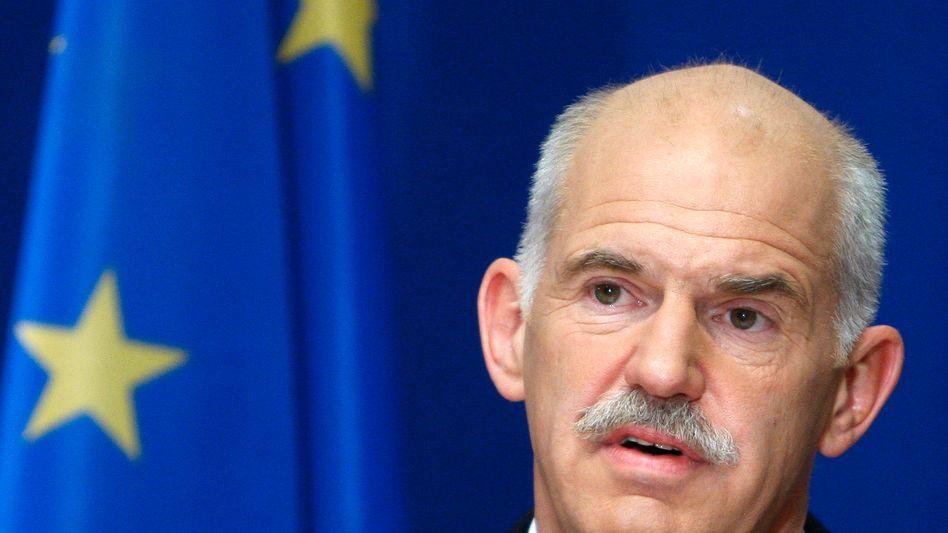 """Griechenlands Premierminister Papandreou: """"Sind entschlossen, richtig zu haushalten"""""""