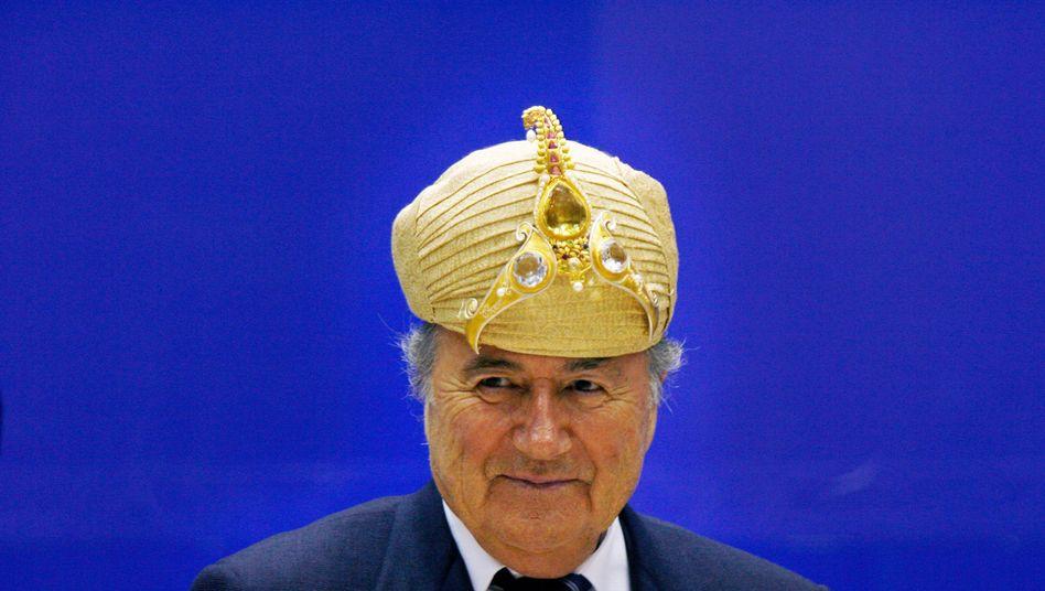 Fifa-Chef Blatter (2007): Weltverband mimt die Unschuld vom Lande