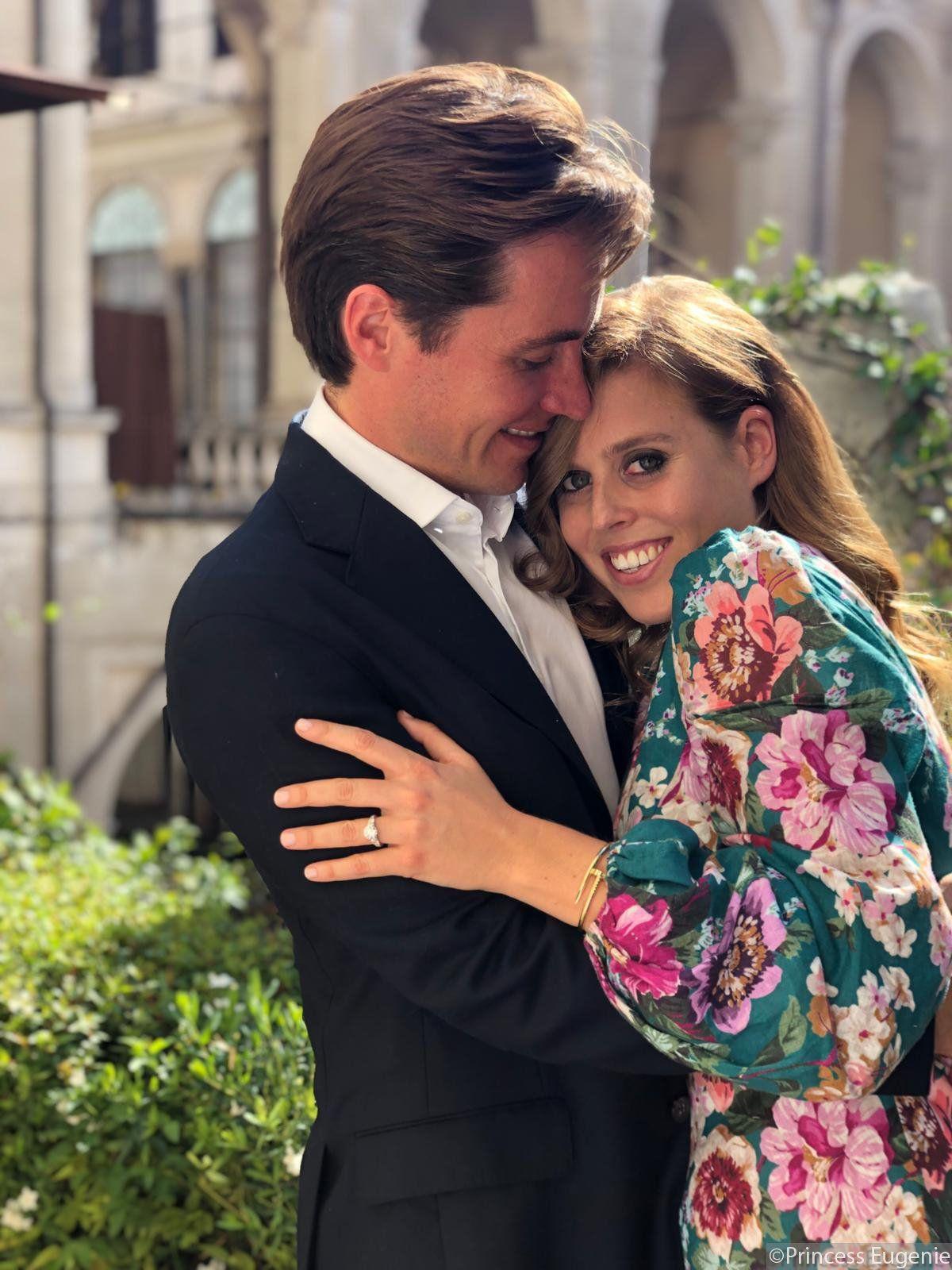 EINMALIGE VERWENDUNG Prinzessin Beatrice/ Verlobung