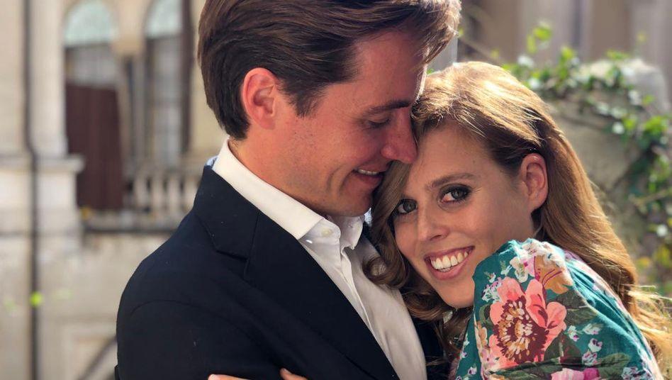 Prinzessin Beatrice und Edoardo Mapelli Mozzi nach ihrer Verlobung: Antrag in Italien