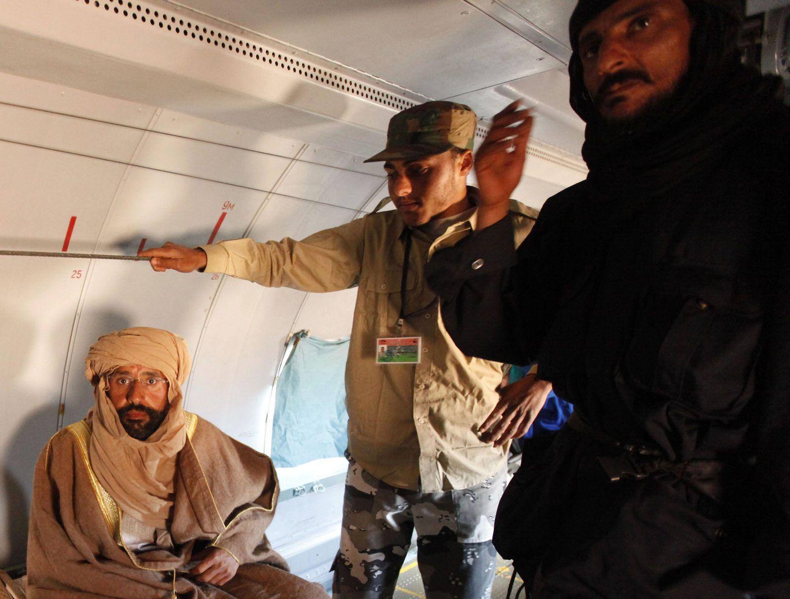 Libyen/ Saif al-Islam Festnahme