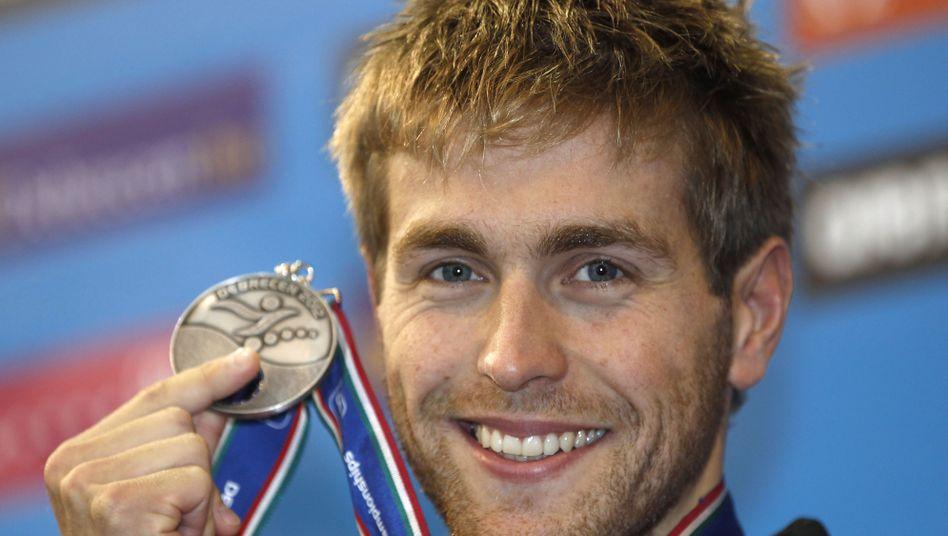 Schwimmprofi Meeuw: Medaille bei der im EM in Debrecen