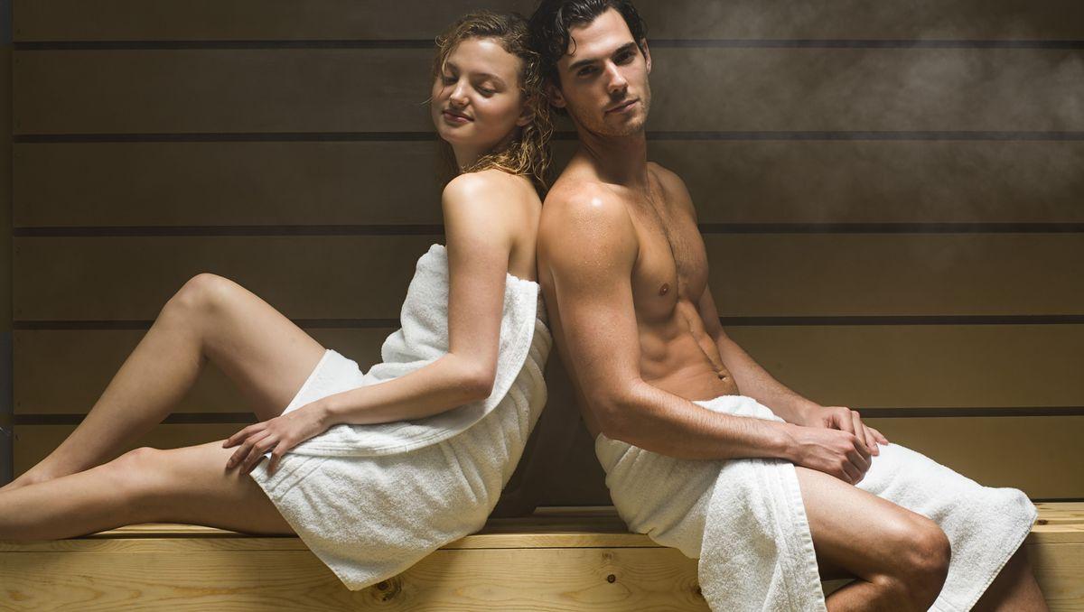 Nackt sauna der lehrerin in Ich hab