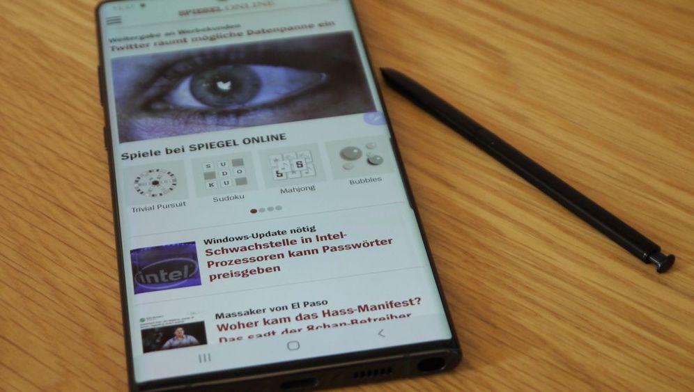 Samsung Galaxy Note 10: Mit Zauberstift und Vierfach-Kamera