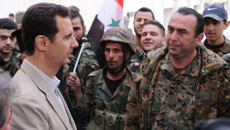 Bürgerkrieg in Syrien: USAprüfen Verdacht auf Giftgas-Einsatz durch Assad-Truppen