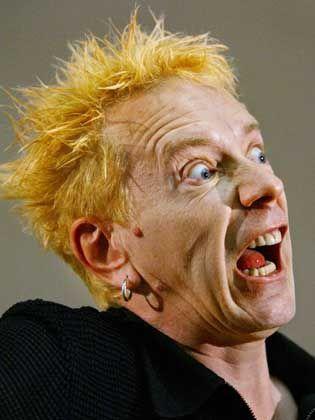 John Lydon alias Johnny Rotten, Mitglied der Sex Pistols: Preisverdächtig lästern