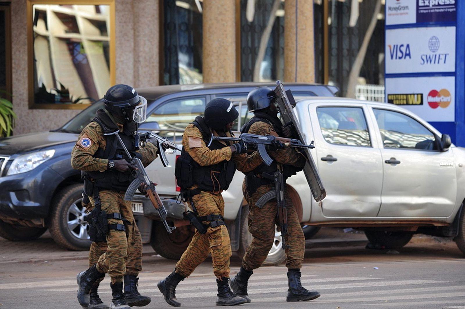 Burkina Faso / Ouagadougou / Anschlag / Hotel