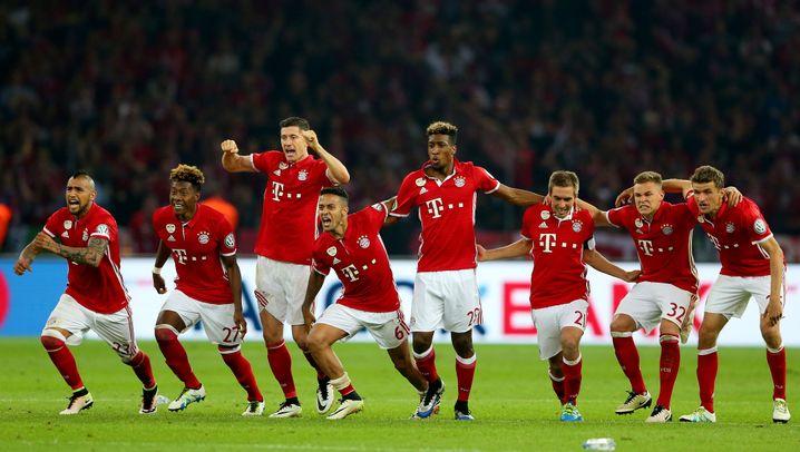Pokalfinale: Bayern gewinnt den Abnutzungskampf