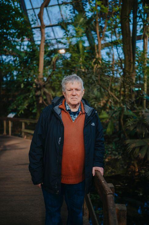 Retired zookeeper Klaus Reymer