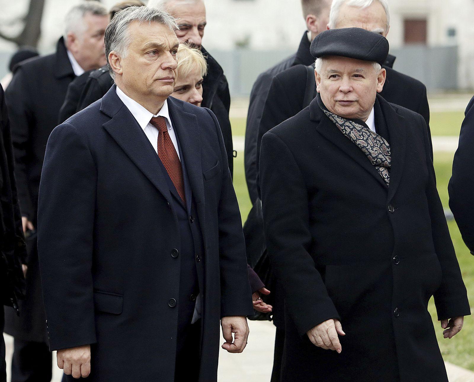Viktor Orban/ Jaroslaw Kaczynski