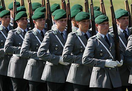 Bundeswehrsoldaten: Verfall der Wehrtauglichkeit
