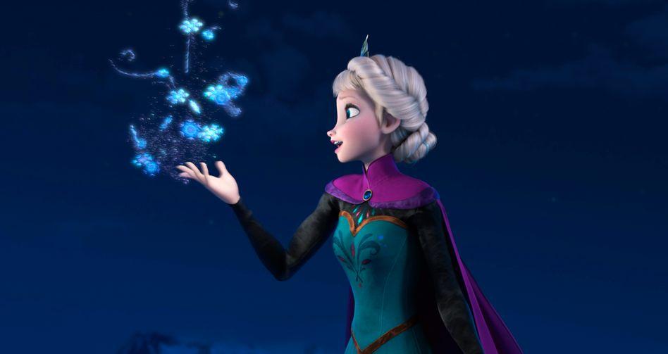 Disney-Figur Schneekönigin