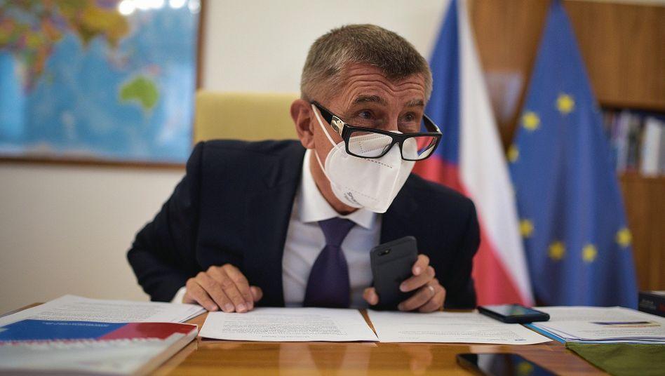 Czech Prime Minister Andrej Babiš