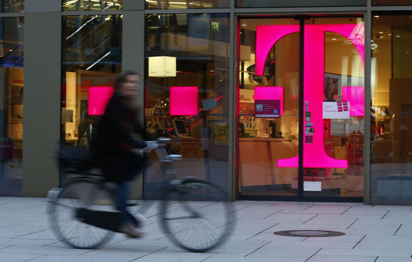 EINMALIGE VERWENDUNG Telekom Filiale Frankfurt