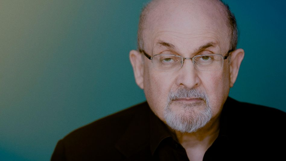 Schriftsteller Rushdie
