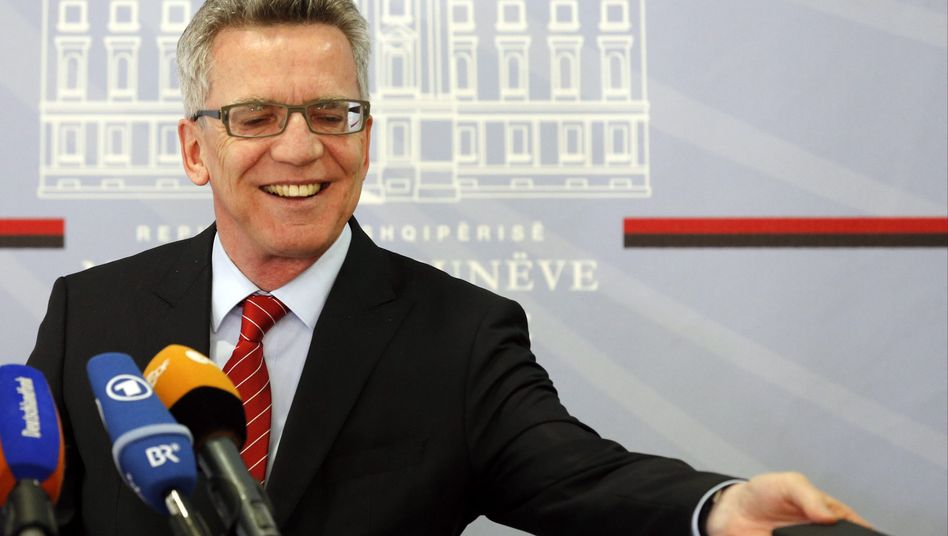 Bundesinnenminister Thomas de Maizière: Unterstützung aus der Union