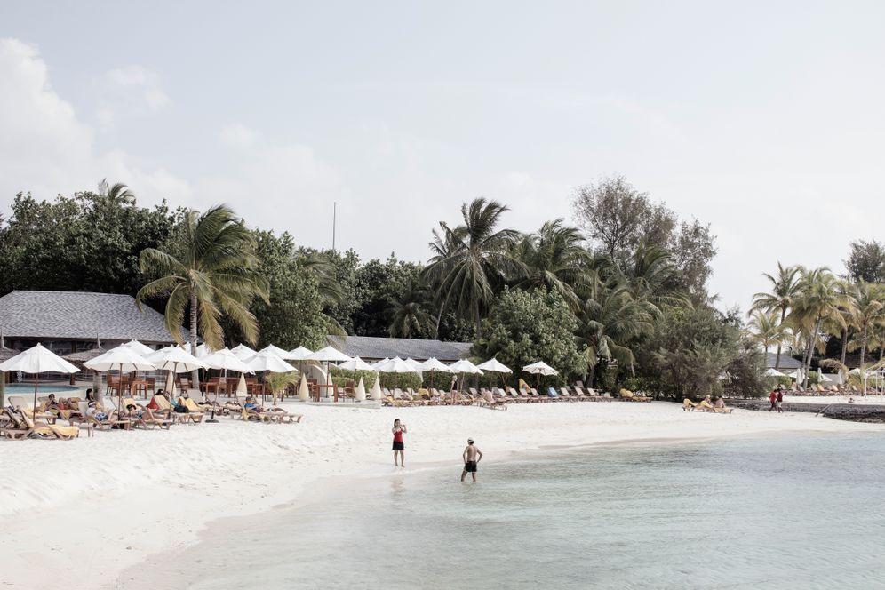 Urlauber auf den Malediven: Den Müll bekommen die Touristen meist nicht zu sehen