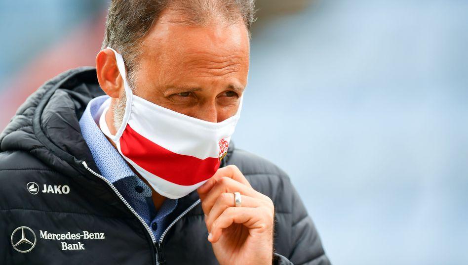 Stuttgarts Trainer Pellegrino Matarazzo