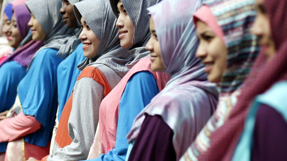 """Miss-Muslim-World-Wahl: """"Die innere Schönheit"""""""