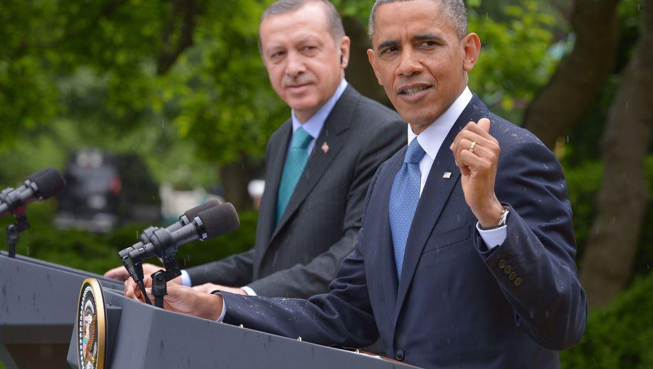 """Obama, Erdogan: """"Es gibt keine Zauberformel"""""""