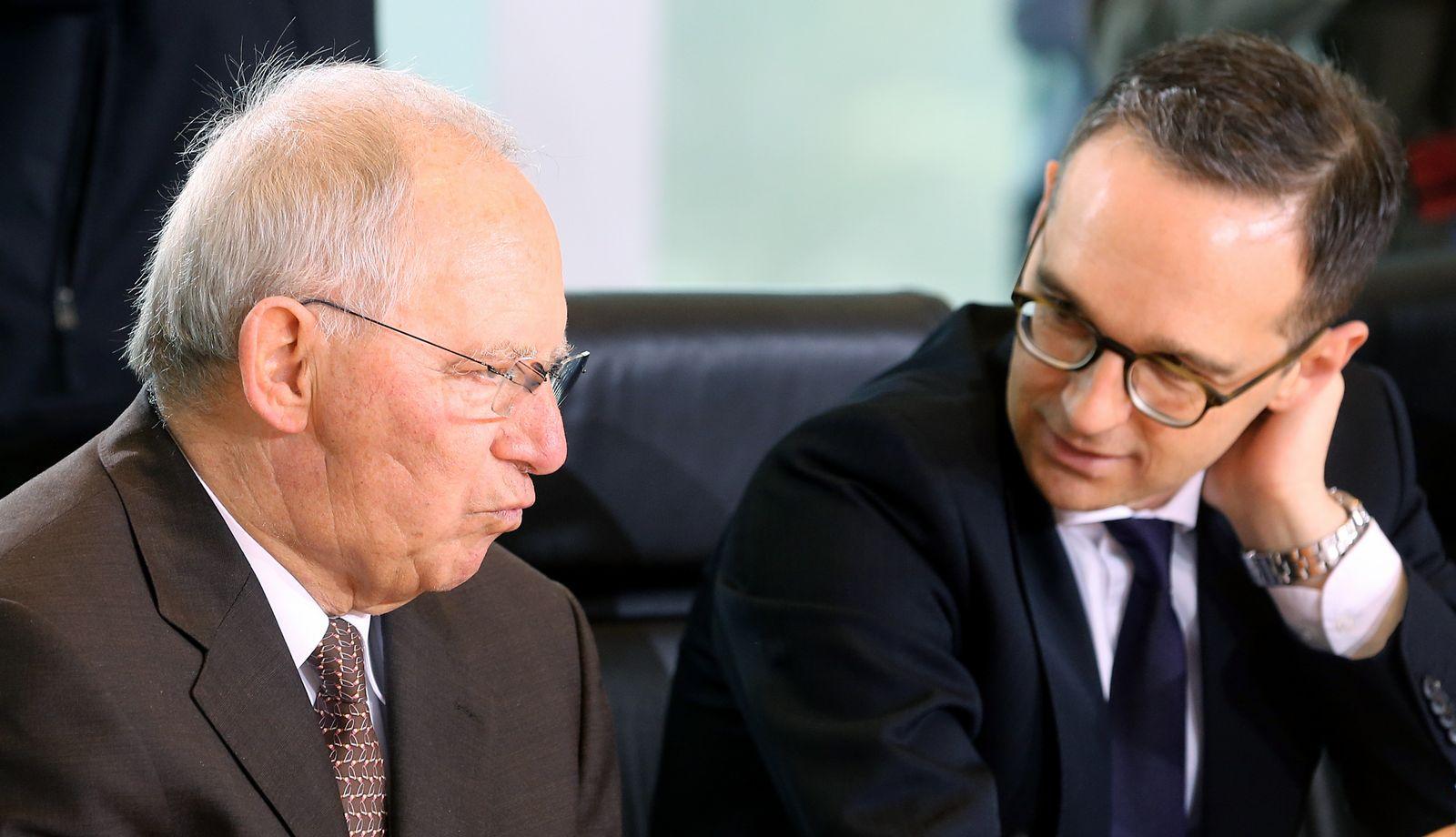 Wolfgang Schäuble / Heiko Maas