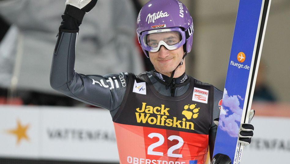 Skispringer Schmitt (Archivbild): Sieg in Engelberg