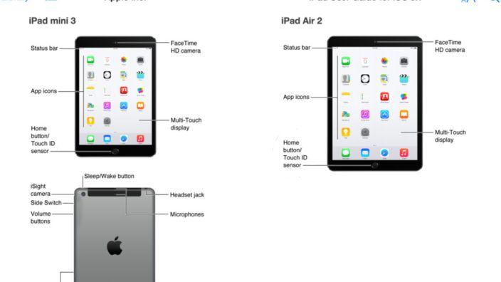 Screenshot aus dem Apple Store (Mittwoch): Noch gibt es gar kein iPad Air 2