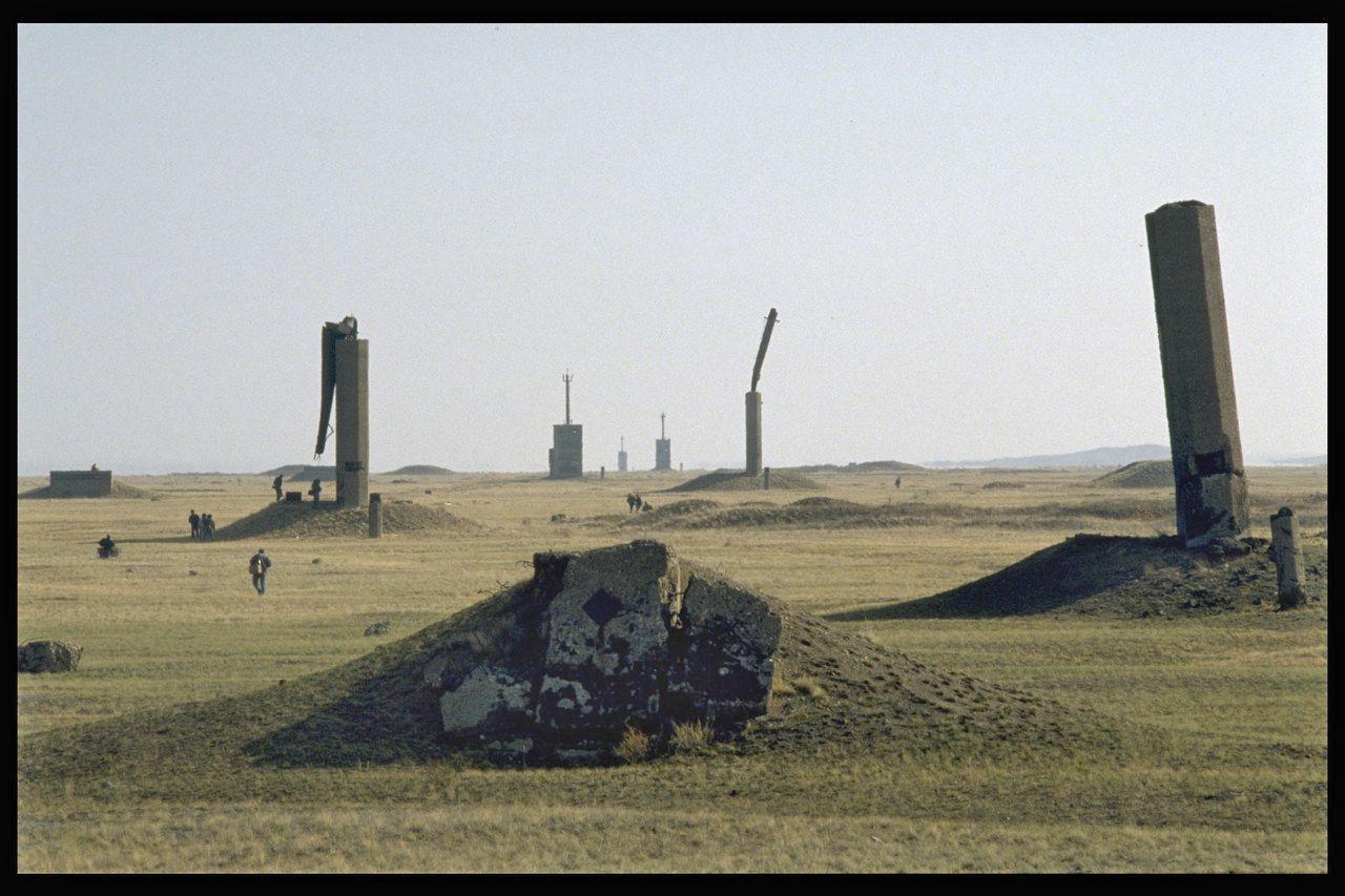 EINMALIGE VERWENDUNG einestages - Atomare Wüsten
