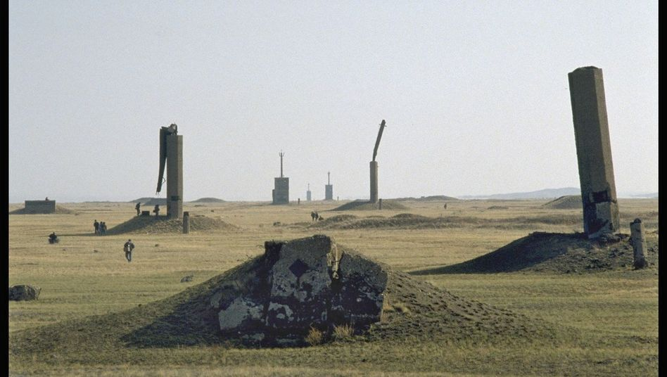 The Soviet nuclear testing site in present-day Kazakhstan is just one of many places in the world that remain dangerously radioactive to this day.